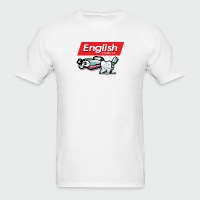 English Toothpaste - Men's T-Shirt