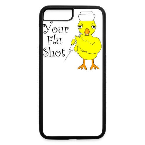 Flu Shot Chick - iPhone 7 Plus/8 Plus Rubber Case