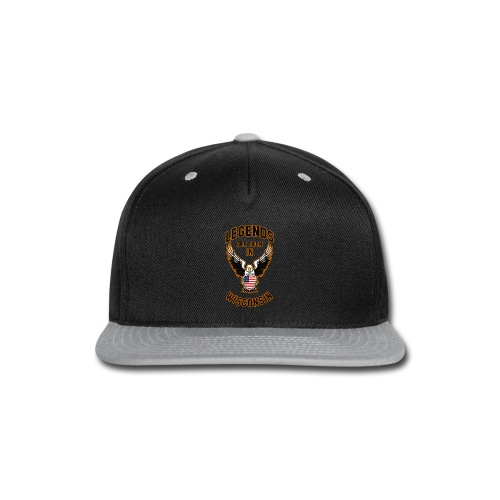 Legends are born in Wisconsin - Snap-back Baseball Cap
