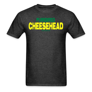 Purebred Cheesehead - Men's T-Shirt