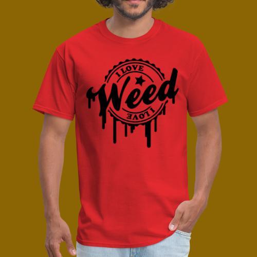 I LOVE WEED TEE 4 - Men's T-Shirt