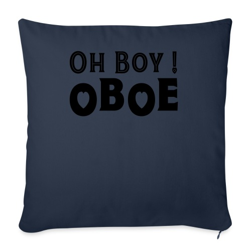 Oh Boy Oboe - Throw Pillow Cover