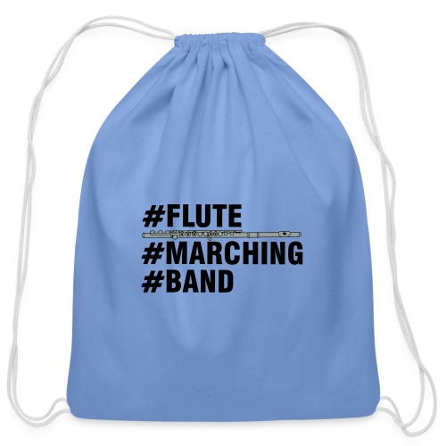 Flute Marching Band - Cotton Drawstring Bag