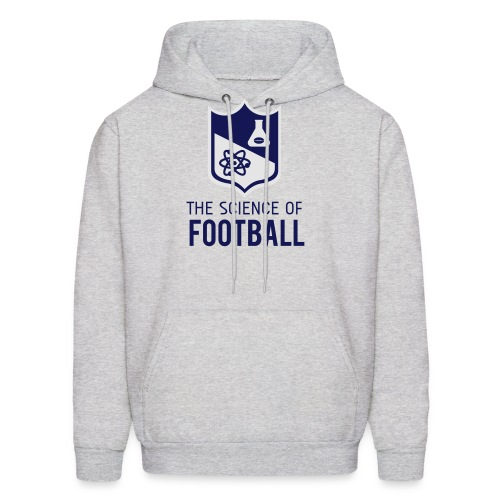The Science of Football - Grey - Men's Hoodie