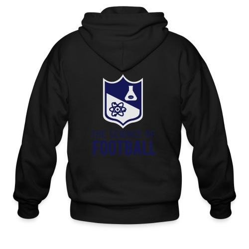The Science of Football - Grey - Men's Zip Hoodie
