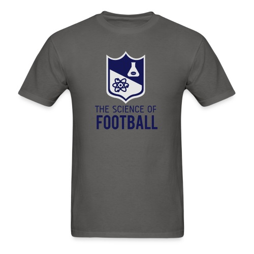 The Science of Football - Grey - Men's T-Shirt