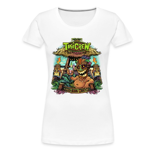 Tiki Bar - Women's Premium T-Shirt