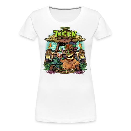 Tiki Bar - Women's Premium T-Shirt