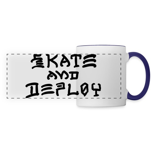 Skate and Deploy - Panoramic Mug