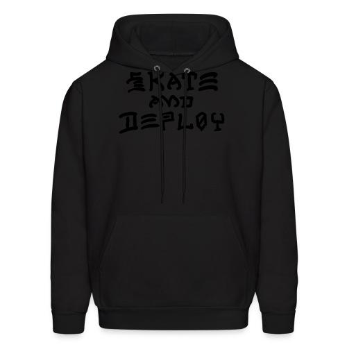 Skate and Deploy - Men's Hoodie