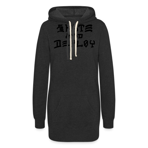 Skate and Deploy - Women's Hoodie Dress