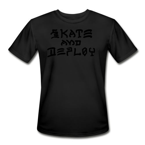 Skate and Deploy - Men's Moisture Wicking Performance T-Shirt