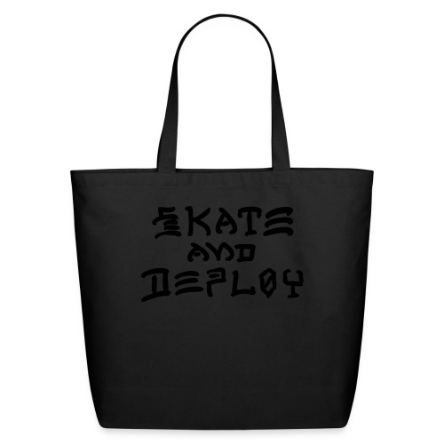 Skate and Deploy - Eco-Friendly Cotton Tote