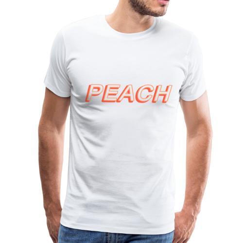 PEACH - Men's Premium T-Shirt
