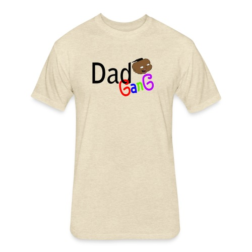 Dad Gang Boy - Fitted Cotton/Poly T-Shirt by Next Level