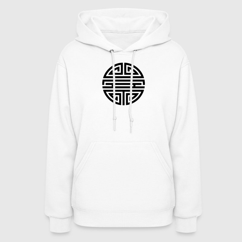 Shou, Chinese,good luck charm, symbol long life / Hoodies - Women's Hoodie