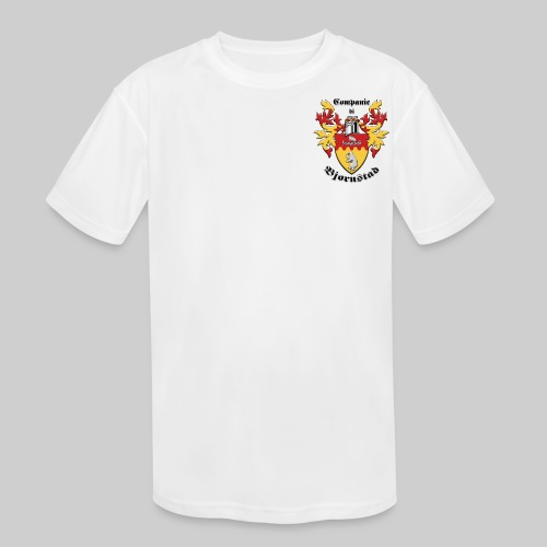 Companie di Bjornstad 1 - Kids' Moisture Wicking Performance T-Shirt