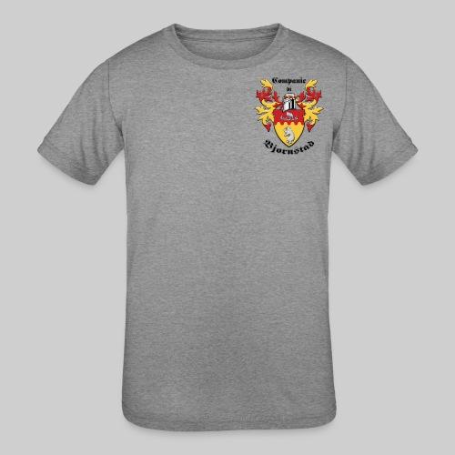 Companie di Bjornstad 1 - Kid's Tri-Blend T-Shirt