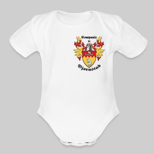 Companie di Bjornstad 1 - Organic Short Sleeve Baby Bodysuit