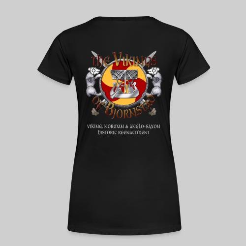 Vikings of Bjornstad Woman's Standard Weight T-Shirt - Women's Premium T-Shirt