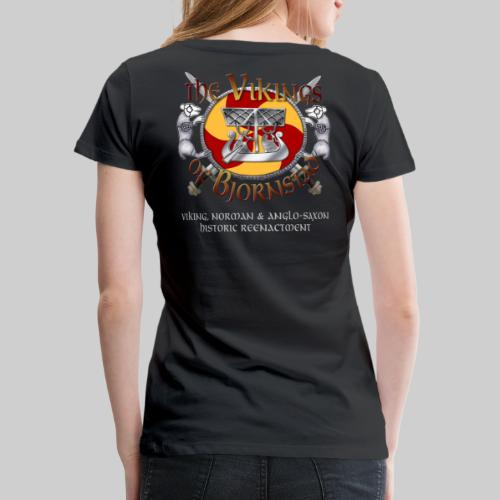 Vikings of Bjornstad Woman's Standard Weight T-Shirt - Women's Premium T-Shirt