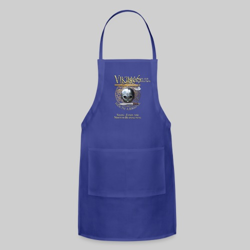 Vikings North America T-Shirt - Small Tagline Front/Logo Back - Adjustable Apron