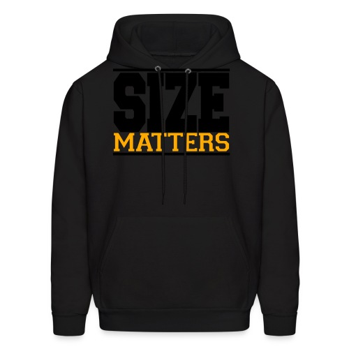 SIZE Matter gym fitness t-shirt - Men's Hoodie