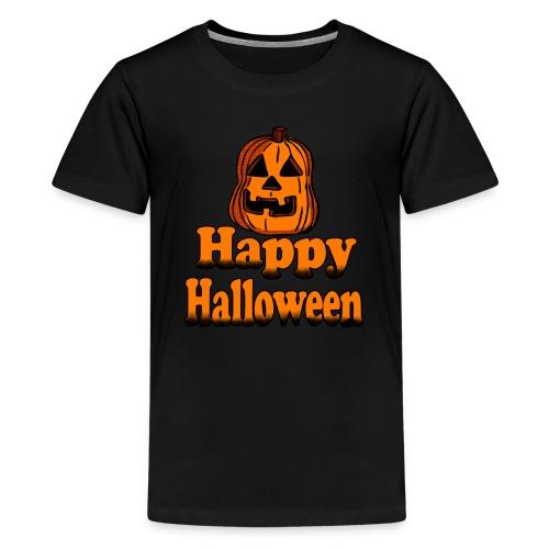 Happy Halloween pumpkin - Kids' Premium T-Shirt