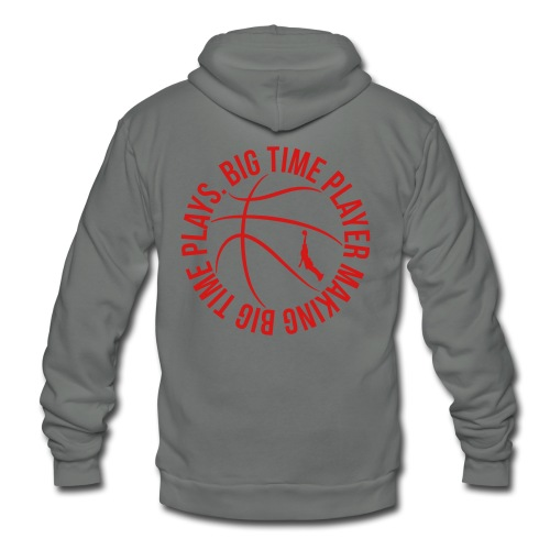 Big Time Basketball Player Making Bog Time Plays t-shirt - Unisex Fleece Zip Hoodie