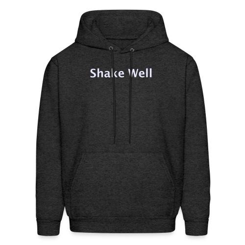Shake Well (silver) - Men's Hoodie