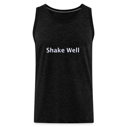 Shake Well (silver) - Men's Premium Tank