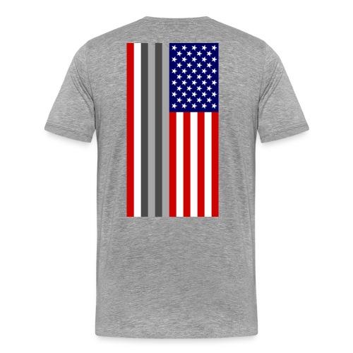Twin Towers Flag - Men's Premium T-Shirt