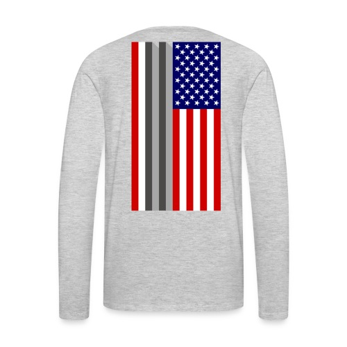Twin Towers Flag - Men's Premium Long Sleeve T-Shirt