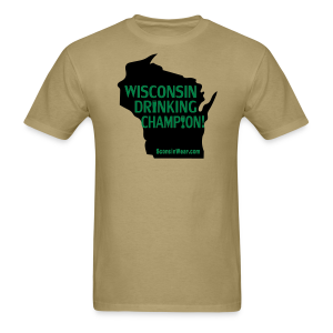 Drinking Champion - Men's T-Shirt