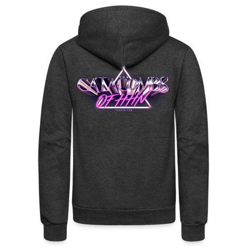 Catacombs 80s #2 - Unisex Fleece Zip Hoodie