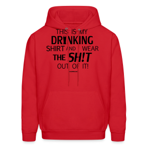 My Drinking Shirt - Black Glitz - Men's Hoodie