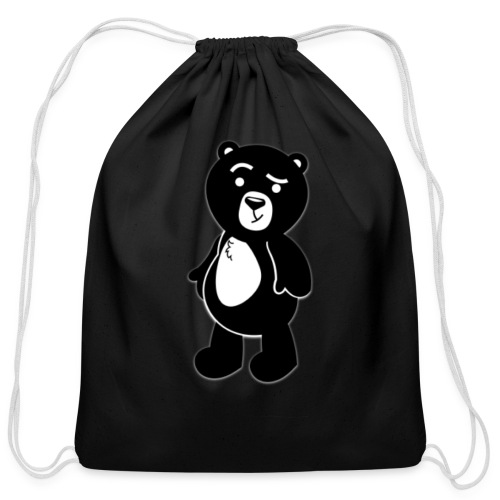 Help Da Bear  - Cotton Drawstring Bag