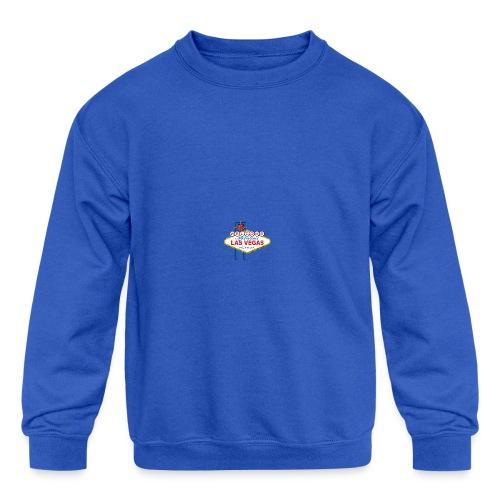 Welcome To Las Vegas - Kid's Crewneck Sweatshirt