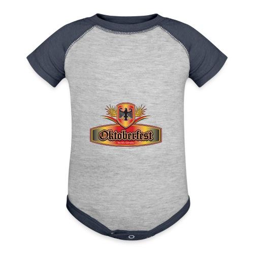 Oktoberfest Eagle Shield - Baby Contrast One Piece