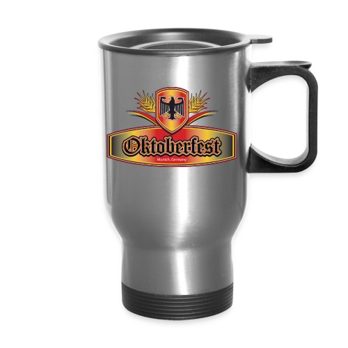 Oktoberfest Eagle Shield - Travel Mug