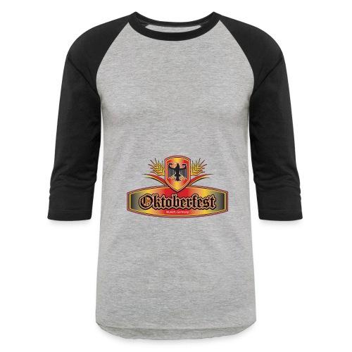 Oktoberfest Eagle Shield - Baseball T-Shirt