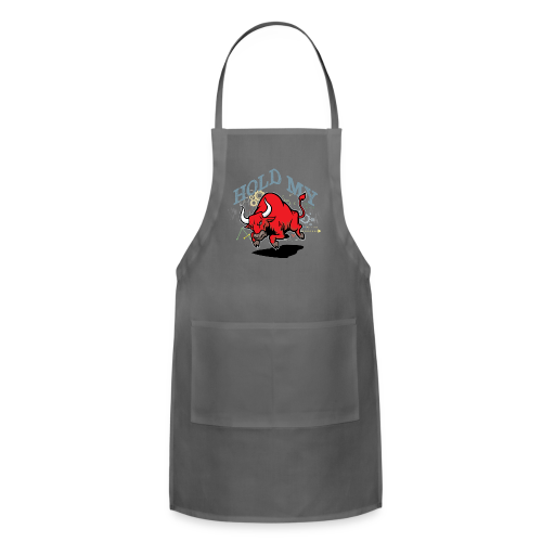 Hold My Red Bull - Adjustable Apron