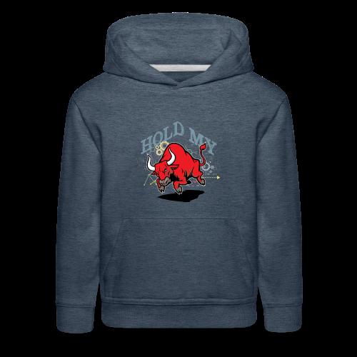 Hold My Red Bull - Kids' Premium Hoodie