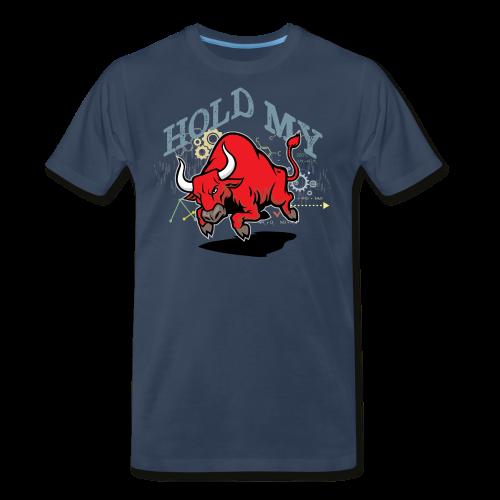 Hold My Red Bull - Men's Premium T-Shirt