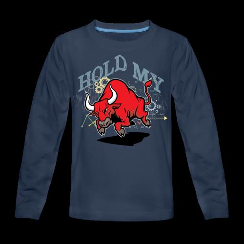 Hold My Red Bull - Kids' Premium Long Sleeve T-Shirt