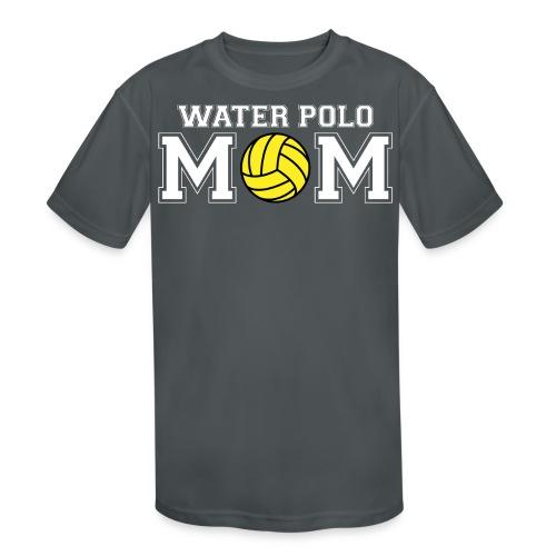 Water Polo Mom t-shirt - Kid's Moisture Wicking Performance T-Shirt