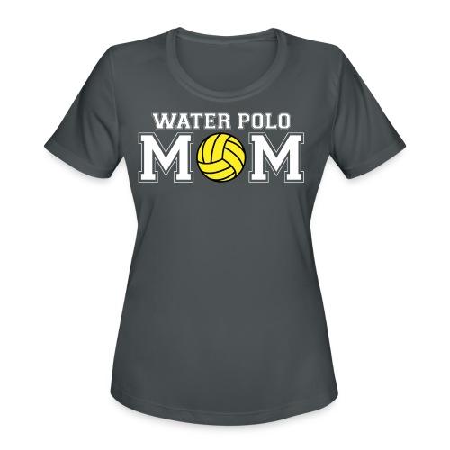 Water Polo Mom t-shirt - Women's Moisture Wicking Performance T-Shirt