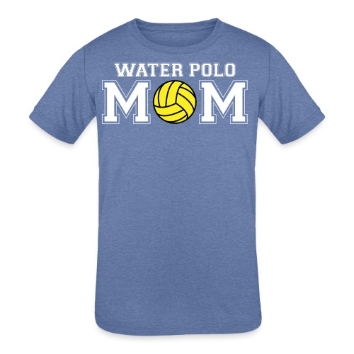 Water Polo Mom t-shirt - Kid's Tri-Blend T-Shirt