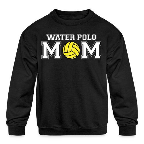 Water Polo Mom t-shirt - Kid's Crewneck Sweatshirt