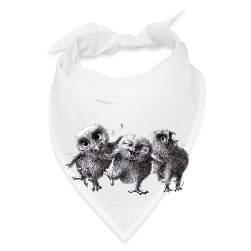 Three Crazy Owls - Bandana